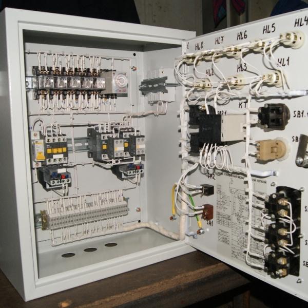 Автоматика парового котла топливо газ-мазут