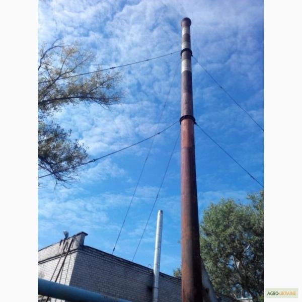 Дымовая труба на растяжках Dy 400