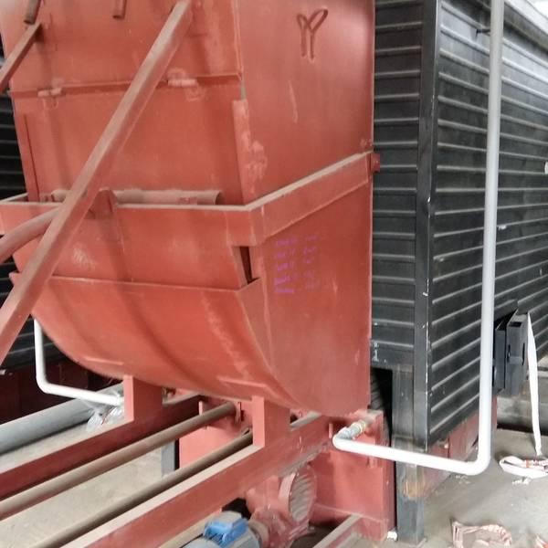 Котел КВм-1,16 на угле с забрасывателем ЗП
