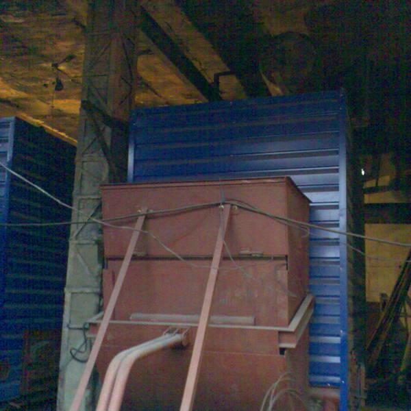 Котел КВм-2 на угле с питателем ПТЛ