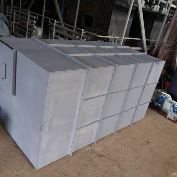 Модульная котельная МКУ-0,35 на основе котла КВм-0,35 на древесных отходах со шнековой подачей
