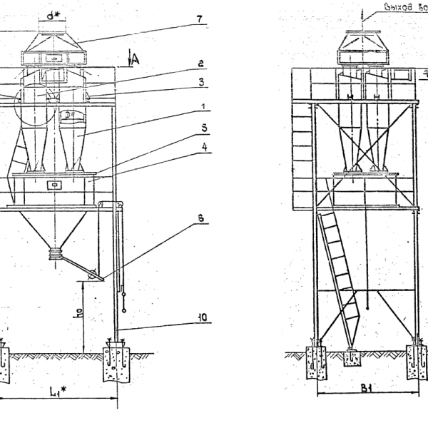 Циклон ЦН-11-600-4СП