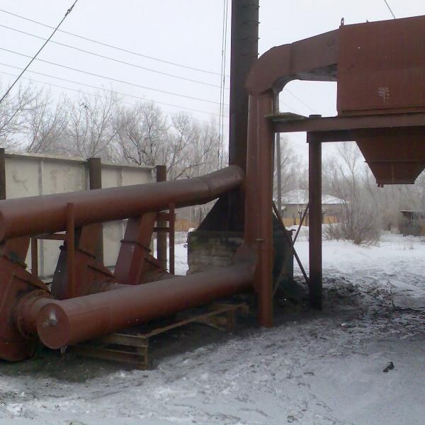 Дымовая труба на растяжках Dy 600