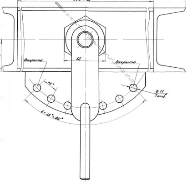 Клапан предохранительный регулируемый Ду 40