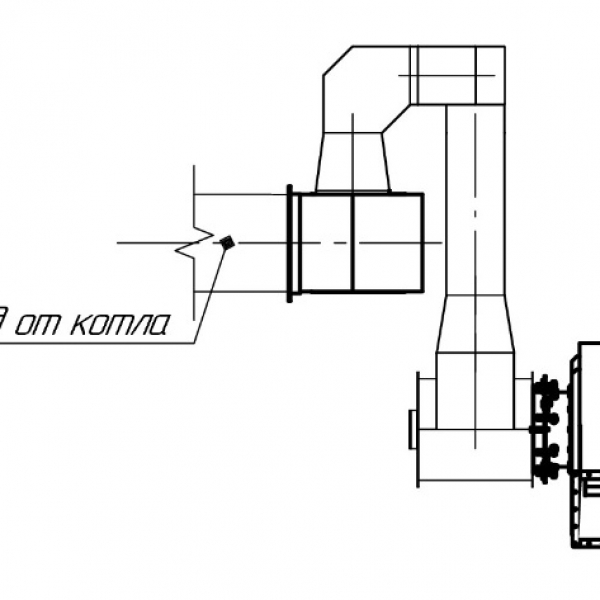Котёл КВм-0,65 на угле