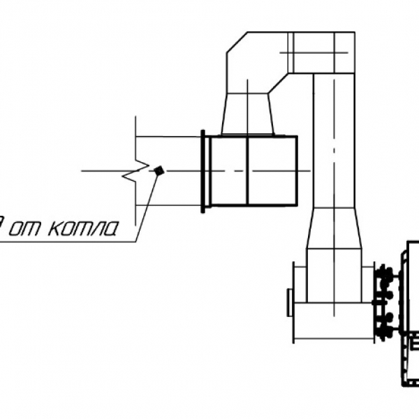 Котёл КВм-0,75 на угле