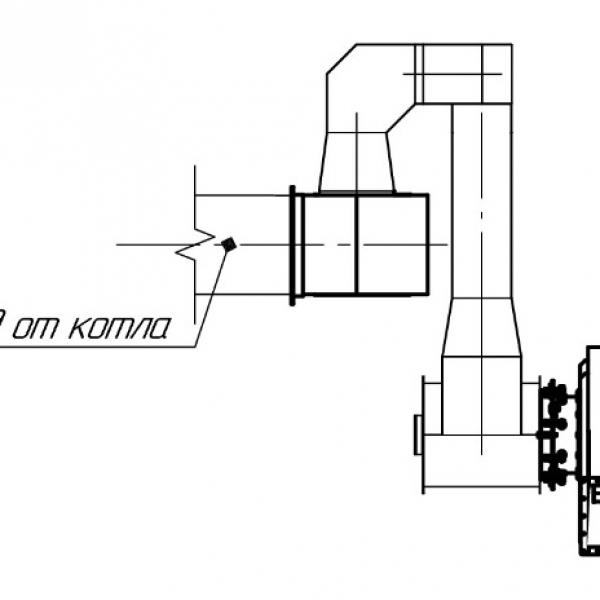 Котёл КВм-1,8 на угле