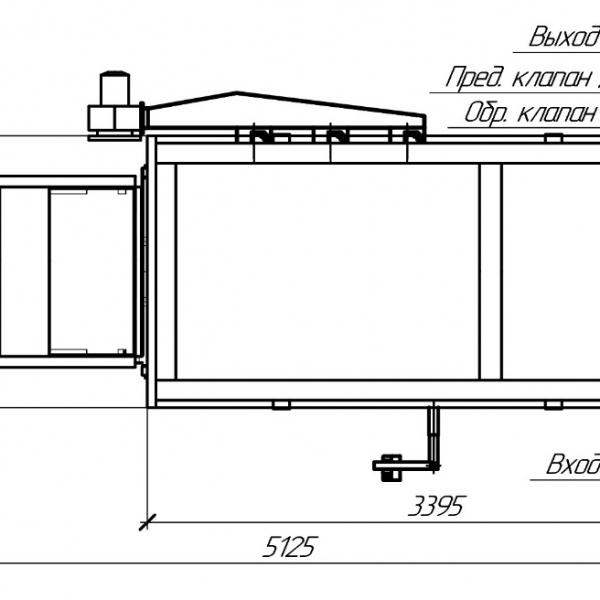 Котел КВм-5,1 на угле с питателем ПТЛ