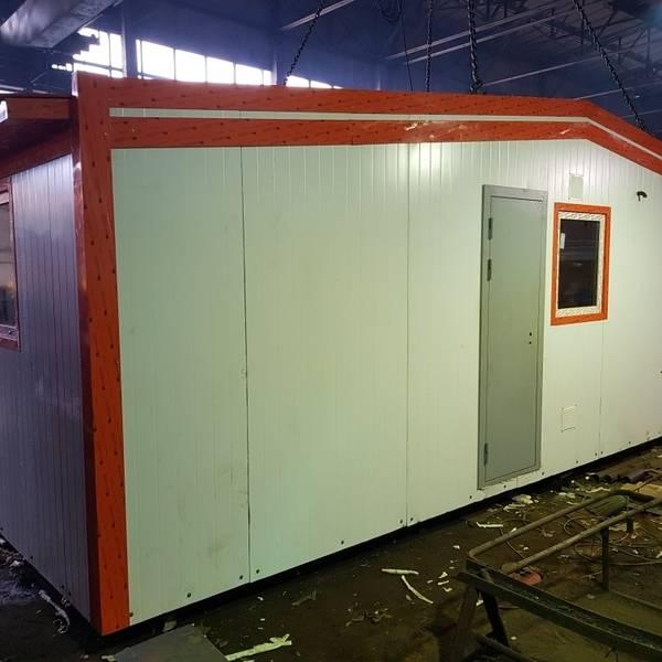 Модульная котельная МКУ-0,5 на основе котла КВм-0,5 на древесных отходах со шнековой подачей