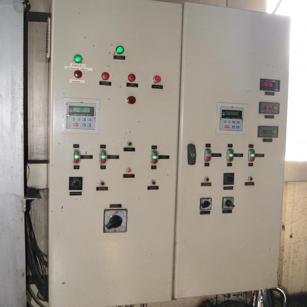 Автоматика парового котла на твердом топливе уголь