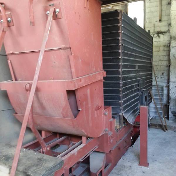 Котел КВм-1,15 на угле с забрасывателем ЗП