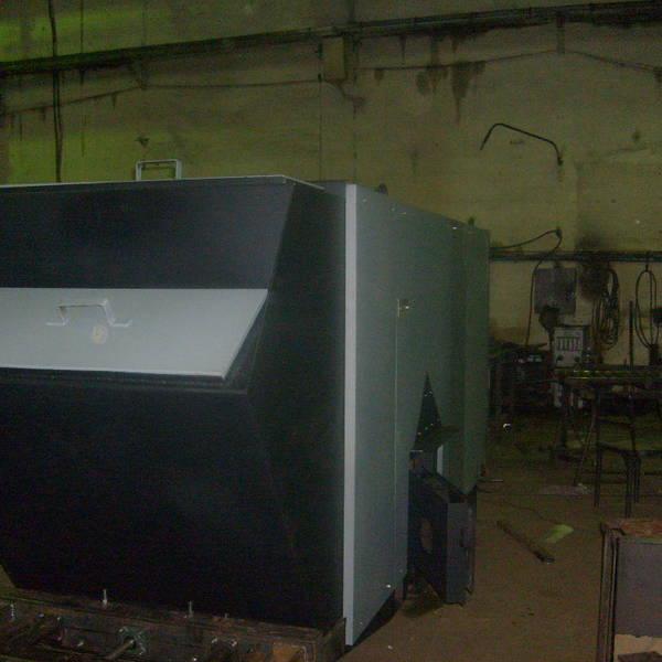 Котел КВм-1,3 на угле с забрасывателем ЗП