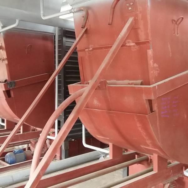 Котел КВм-4,1 на угле с питателем ПТЛ
