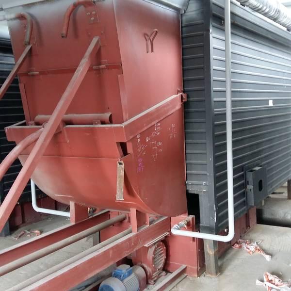 Котел КВм-5,45 на угле с забрасывателем ЗП