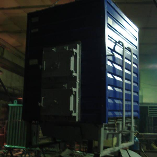Котел КВр-0,45 на древесных отходах c колосниковой решеткой