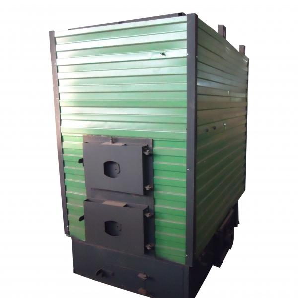 Котел КВр-1,85 на древесных отходах c колосниковой решеткой