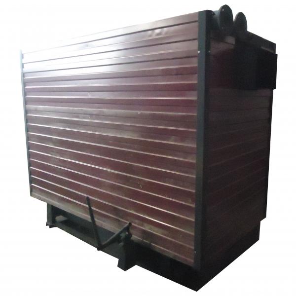 Котел КВр-1,86 на древесных отходах c колосниковой решеткой