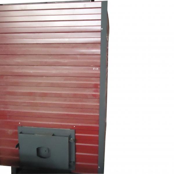 Котел КВр-1,9 на древесных отходах c колосниковой решеткой
