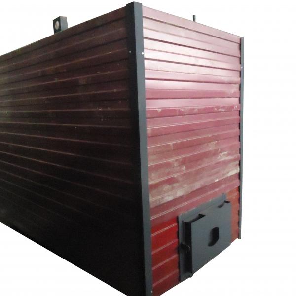 Котел КВр-1,95 на древесных отходах c колосниковой решеткой