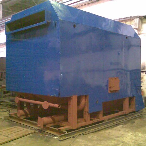 Котёл КВм-5,55 на угле с топкой ТЛПХ