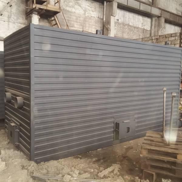 Котёл КВм-5,65 на древесных отходах со шнековой подачей и ворошителем
