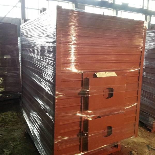 Котёл КВр-0,45 на древесных отходах с топкой ОУР