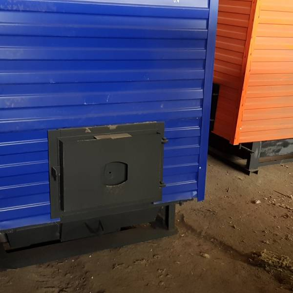Котёл КВр-0,5 на угле с колосниковой решеткой