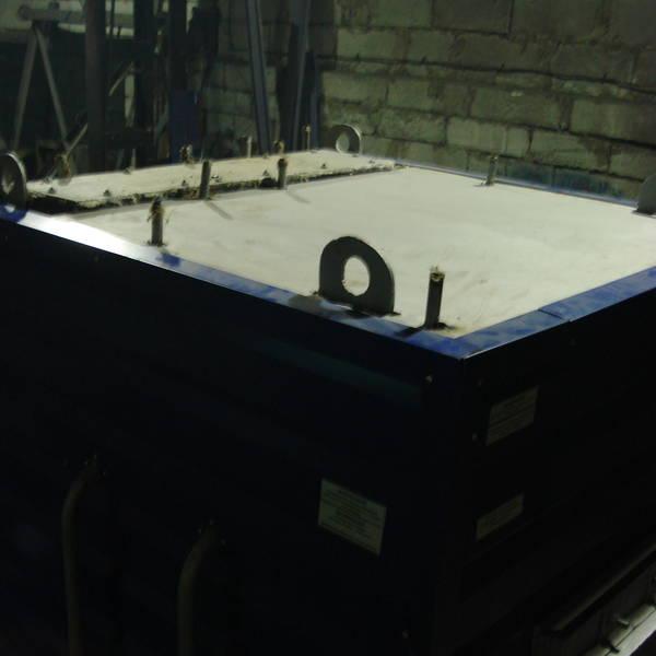 Котёл КВр-0,55 на древесных отходах с топкой ОУР