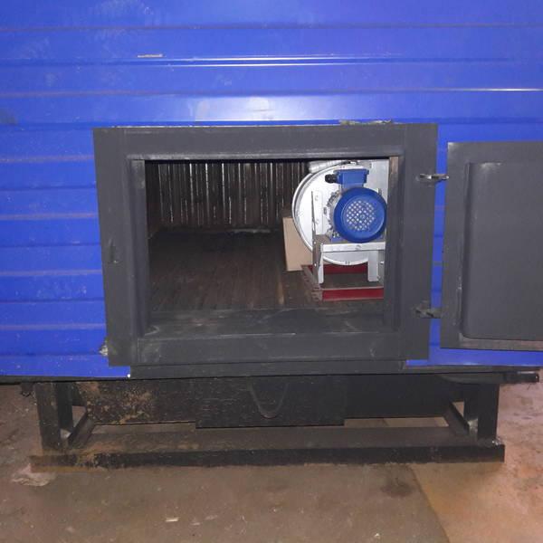 Котёл КВр-0,7 на угле с колосниковой решеткой