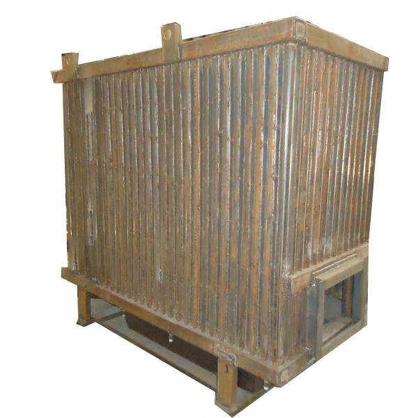 Котёл КВр-0,75 на угле с колосниковой решеткой