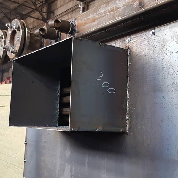 Котёл КВр-0,95 на угле с колосниковой решеткой