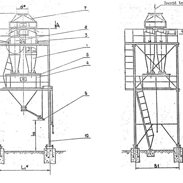 Циклон ЦН-11-600-8СП