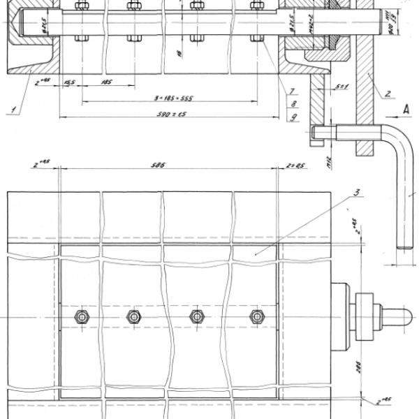Клапан предохранительный регулируемый Ду 80