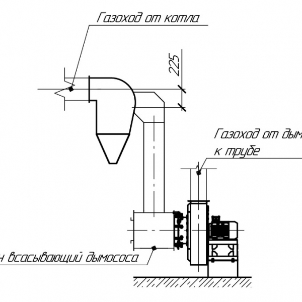 Котёл КВм-1,55 на угле
