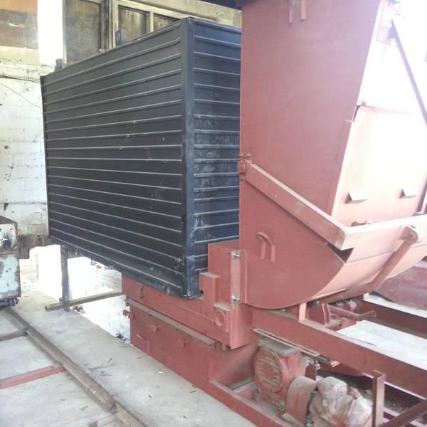 Котел КВм-1,2 на угле с забрасывателем ЗП