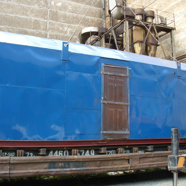 Модульная котельная МКУ-0,6 на основе 2 котлов КВм-0,3 на древесных отходах со шнековой подачей