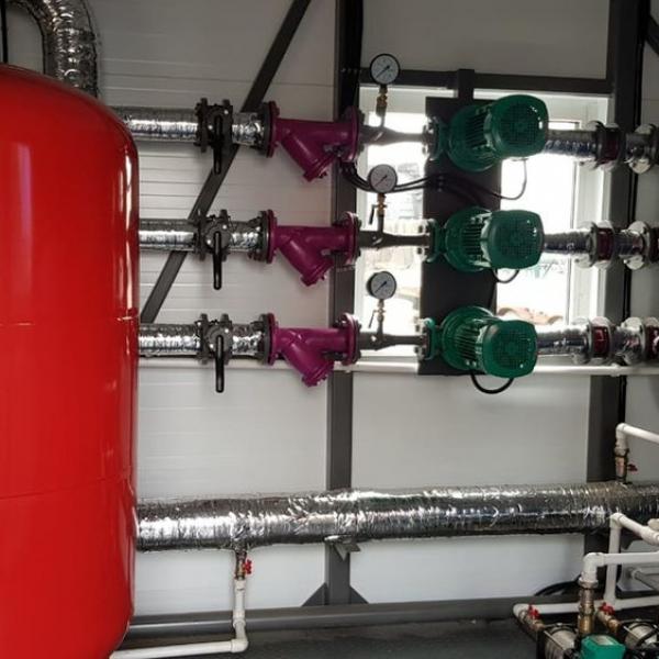 Модульная котельная на дизельном топливе мощностью 2.0 МВт