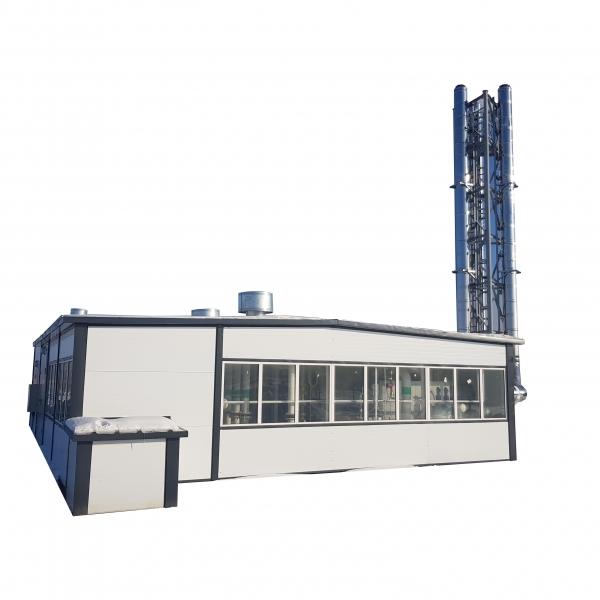 Модульная котельная на газе мощностью 200 кВт