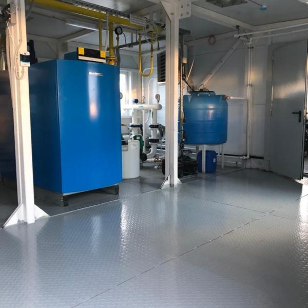 Модульная котельная на газе мощностью 400 кВт