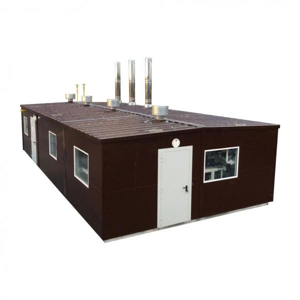 Модульная котельная на газе мощностью 600 кВт